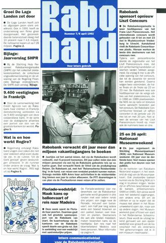 blad 'Raboband' 1992-04-06
