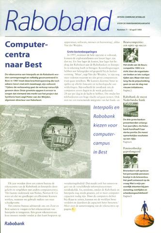 blad 'Raboband' 1995-04-18