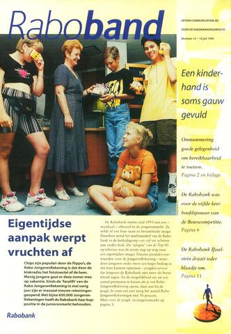 blad 'Raboband' 1995-07-10