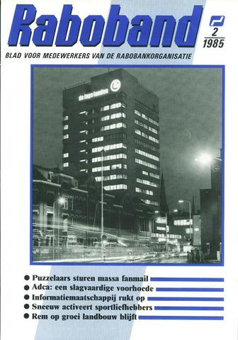 blad 'Raboband' 1985-02-06
