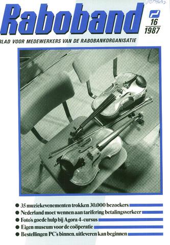 blad 'Raboband' 1987-11-25