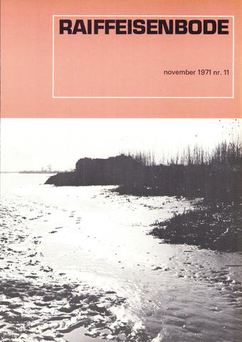 blad 'De Raiffeisen-bode' (CCRB) 1971-11-01