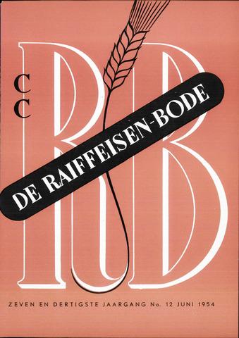 blad 'De Raiffeisen-bode' (CCRB) 1954-06-01