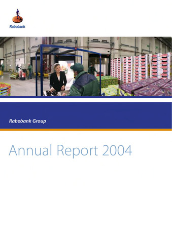 Annual Reports Rabobank 2004