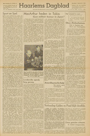 Haarlem's Dagblad 1945-09-08