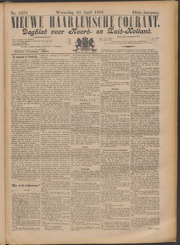 Nieuwe Haarlemsche Courant 1903-04-22