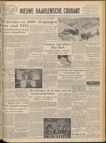 Nieuwe Haarlemsche Courant 1952-02-25