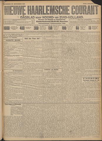 Nieuwe Haarlemsche Courant 1912-11-30