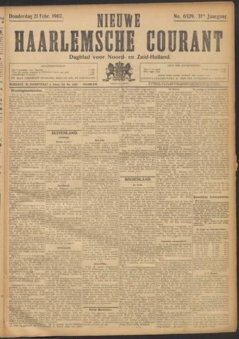 Nieuwe Haarlemsche Courant 1907-02-21
