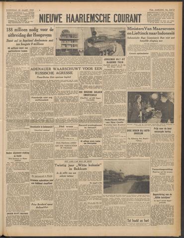 Nieuwe Haarlemsche Courant 1950-03-22