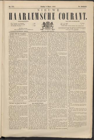 Nieuwe Haarlemsche Courant 1884-03-09