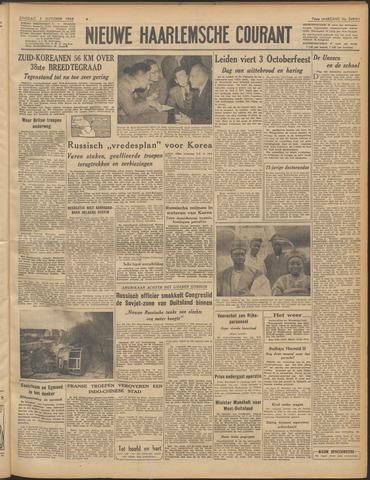 Nieuwe Haarlemsche Courant 1950-10-03