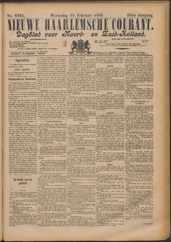 Nieuwe Haarlemsche Courant 1906-02-14