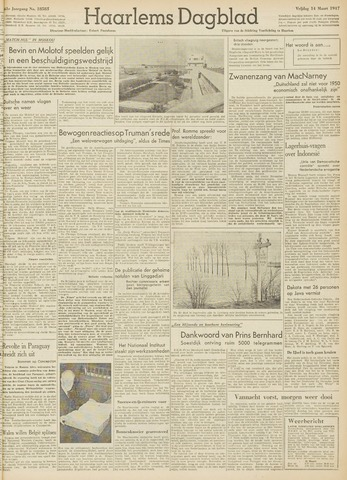 Haarlem's Dagblad 1947-03-14