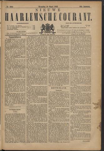 Nieuwe Haarlemsche Courant 1893-03-29