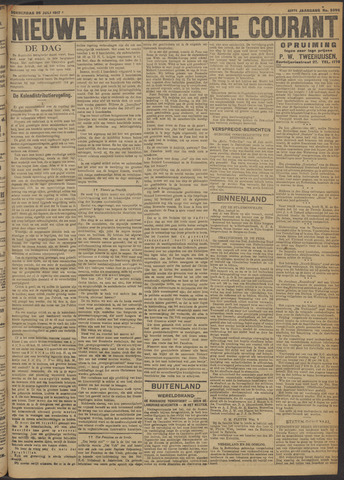 Nieuwe Haarlemsche Courant 1917-07-26