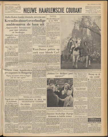 Nieuwe Haarlemsche Courant 1954-11-22