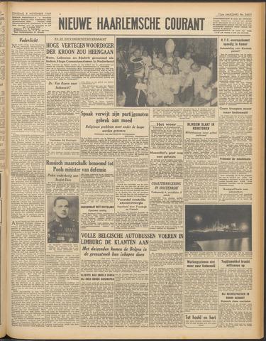 Nieuwe Haarlemsche Courant 1949-11-08