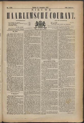 Nieuwe Haarlemsche Courant 1891-09-27