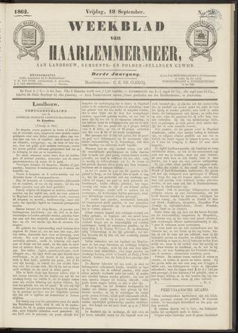 Weekblad van Haarlemmermeer 1862-09-19