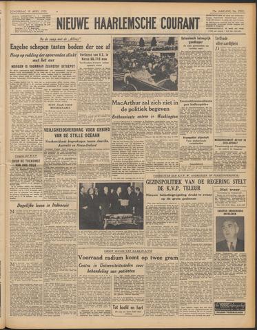 Nieuwe Haarlemsche Courant 1951-04-19