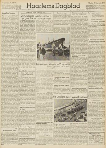 Haarlem's Dagblad 1947-09-29