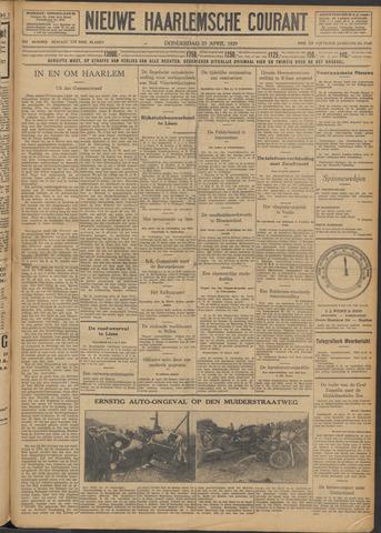 Nieuwe Haarlemsche Courant 1929-04-25