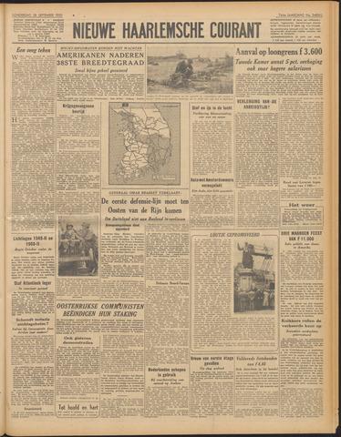 Nieuwe Haarlemsche Courant 1950-09-28