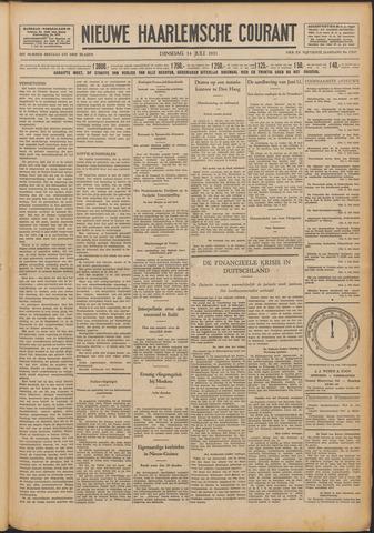 Nieuwe Haarlemsche Courant 1931-07-14