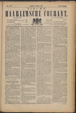 Nieuwe Haarlemsche Courant 1890-03-16