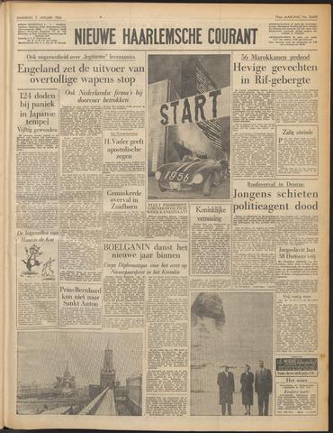 Nieuwe Haarlemsche Courant 1956