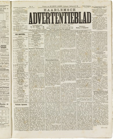 Haarlemsch Advertentieblad 1882-01-28