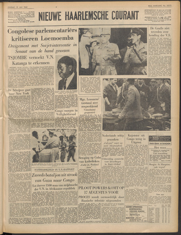 Nieuwe Haarlemsche Courant 1960-07-19