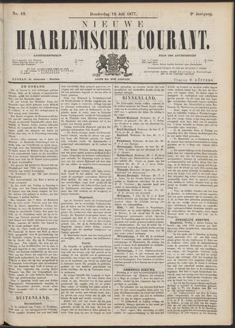 Nieuwe Haarlemsche Courant 1877-07-12