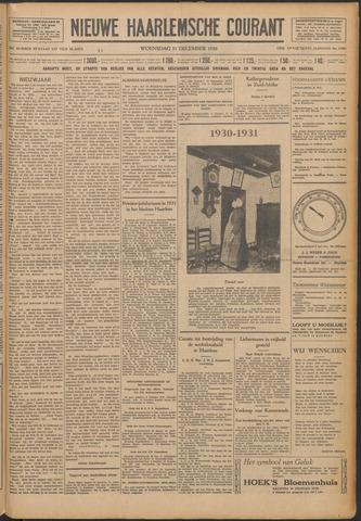 Nieuwe Haarlemsche Courant 1930-12-31