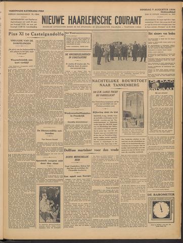 Nieuwe Haarlemsche Courant 1934-08-07