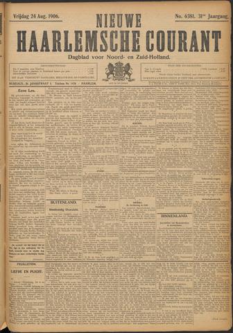 Nieuwe Haarlemsche Courant 1906-08-24