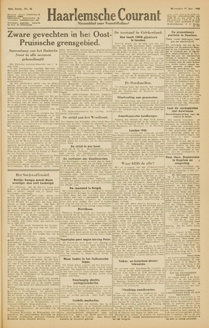 Haarlemsche Courant 1945-01-17