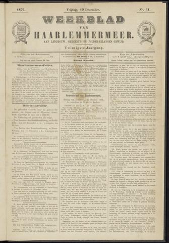 Weekblad van Haarlemmermeer 1879-12-19