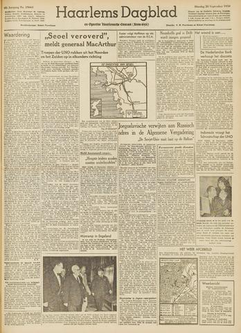 Haarlem's Dagblad 1950-09-26