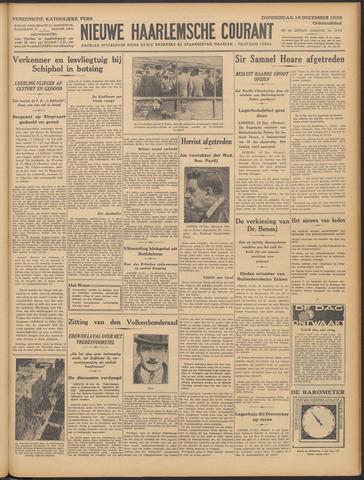 Nieuwe Haarlemsche Courant 1935-12-19