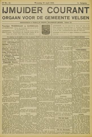 IJmuider Courant 1916-04-26