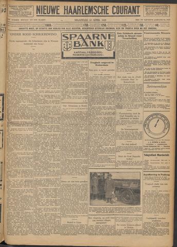Nieuwe Haarlemsche Courant 1929-04-22
