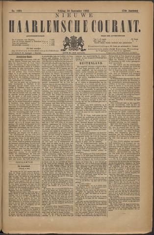 Nieuwe Haarlemsche Courant 1892-09-30