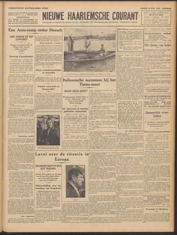 Nieuwe Haarlemsche Courant 1936-04-14