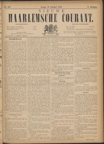 Nieuwe Haarlemsche Courant 1880-02-29