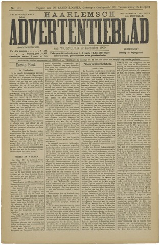 Haarlemsch Advertentieblad 1900-12-19