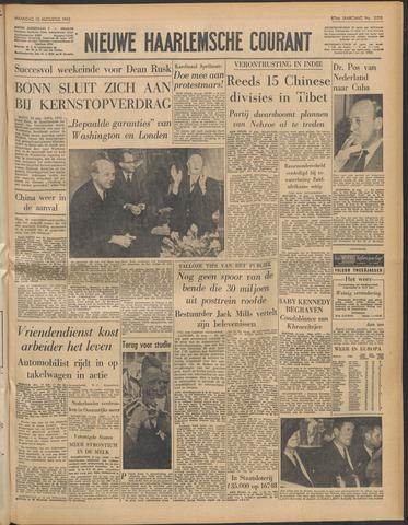 Nieuwe Haarlemsche Courant 1963-08-12