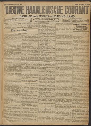 Nieuwe Haarlemsche Courant 1914-10-01