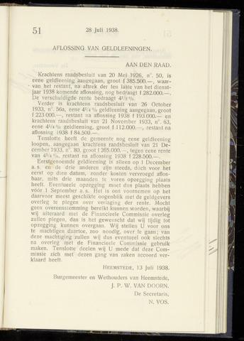 Raadsnotulen Heemstede 1938-07-28